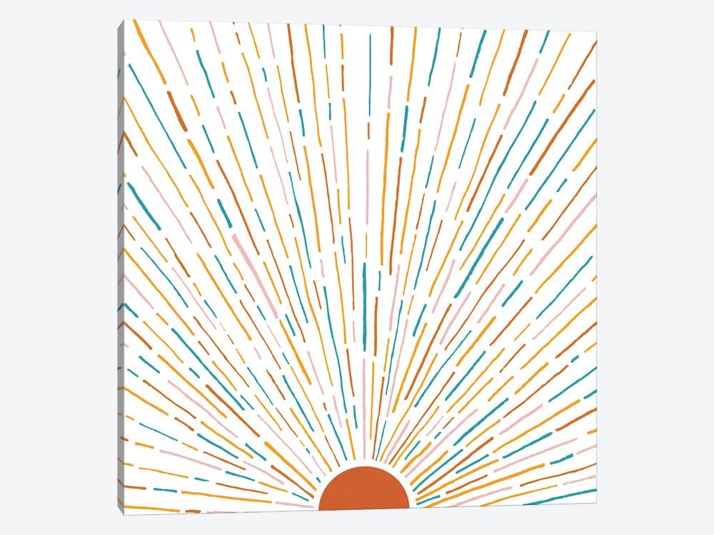 Sunshine All Around by Modern Tropical 1-piece Canvas Print