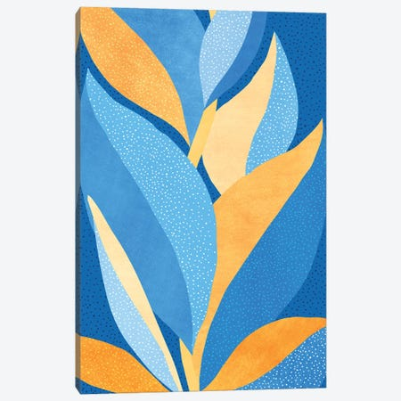 Vibrant Night Garden Canvas Print #MTP179} by Modern Tropical Canvas Art