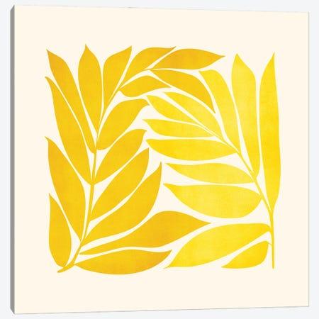 Mid Mod Vines Canvas Print #MTP183} by Modern Tropical Art Print