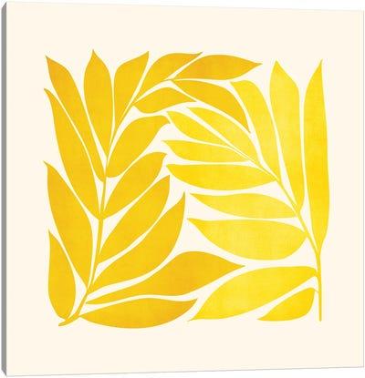 Mid Mod Vines Canvas Art Print