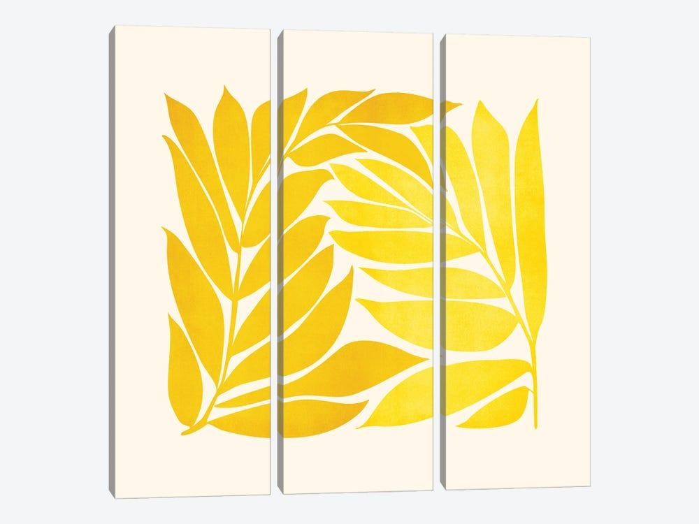 Mid Mod Vines by Modern Tropical 3-piece Canvas Artwork