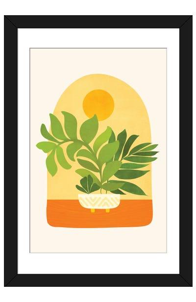 Sunday Sunset Framed Art Print