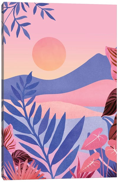Hawaiian Sunset Canvas Art Print