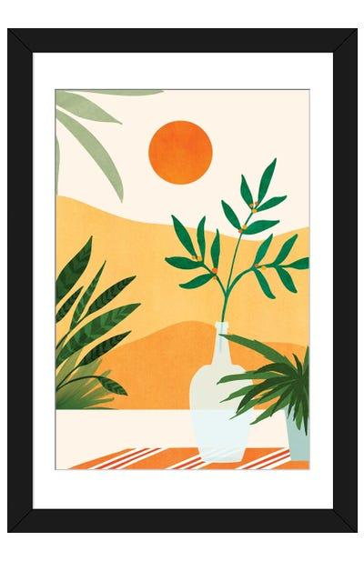 California Sunset Views Framed Art Print