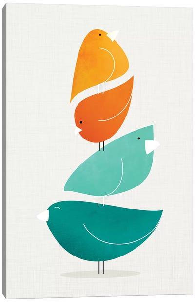 Bird Stack II Canvas Art Print