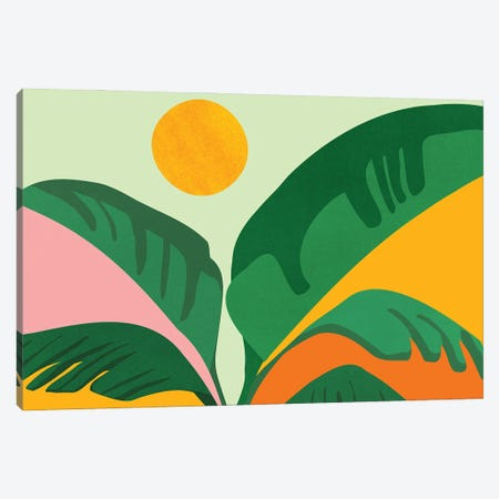Things Are Looking Up Canvas Print #MTP191} by Modern Tropical Canvas Artwork