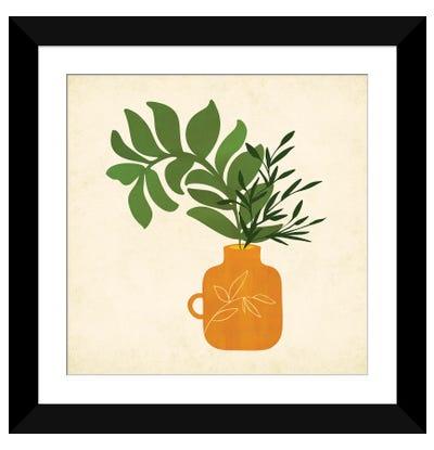 Boho Bouquet Framed Art Print