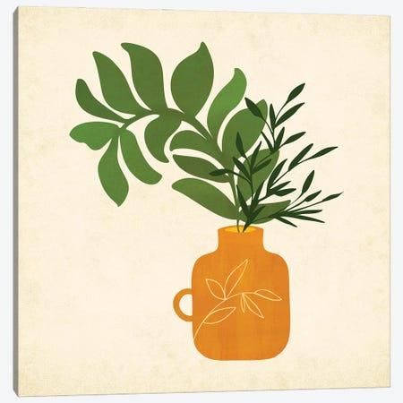 Boho Bouquet Canvas Print #MTP192} by Modern Tropical Canvas Artwork