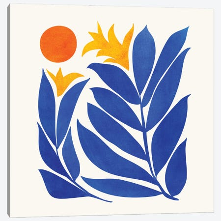 Community Garden Canvas Print #MTP197} by Modern Tropical Canvas Art Print