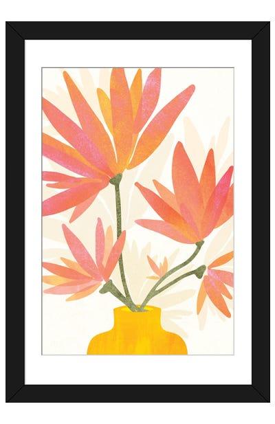 Bright Blooms Framed Art Print