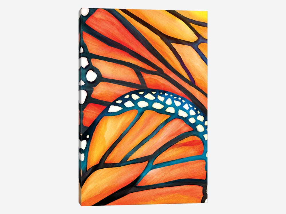 Abstract Butterfly by Modern Tropical 1-piece Canvas Print