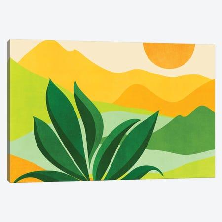 Peaceful Mountain Paradise Canvas Print #MTP203} by Modern Tropical Canvas Art