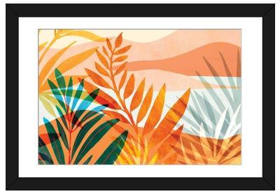 Summer Rainforest Framed Art Print