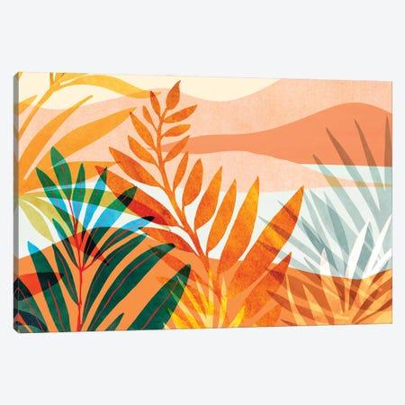 Summer Rainforest Canvas Print #MTP207} by Modern Tropical Art Print