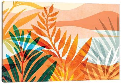 Summer Rainforest Canvas Art Print