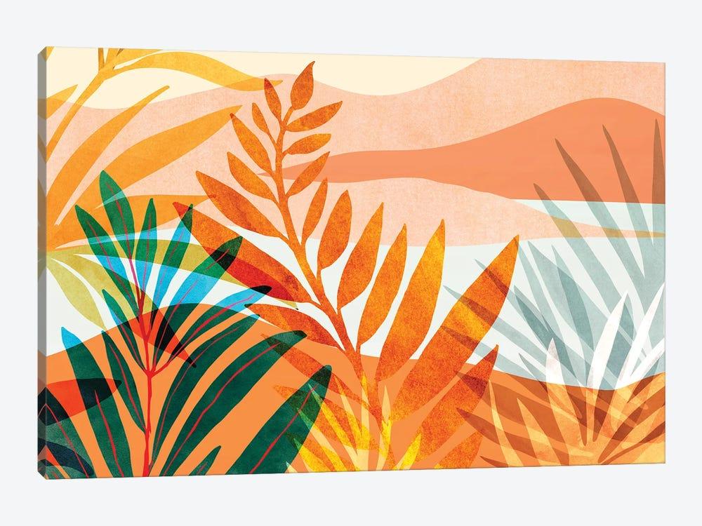 Summer Rainforest by Modern Tropical 1-piece Canvas Wall Art