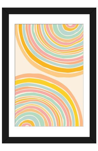 Rainbow Reflections Framed Art Print