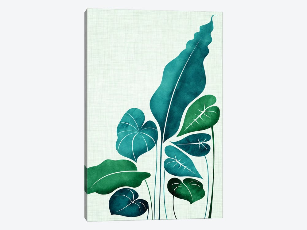 Cacophony by Modern Tropical 1-piece Canvas Art