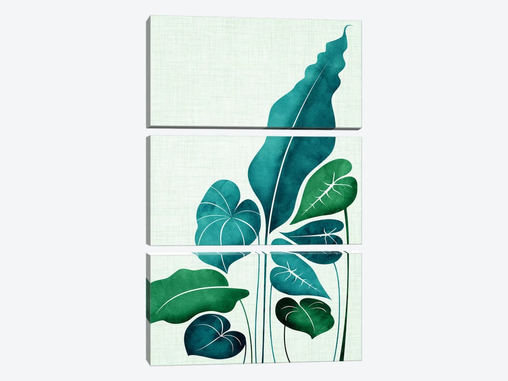 Cacophony by Modern Tropical 3-piece Canvas Art