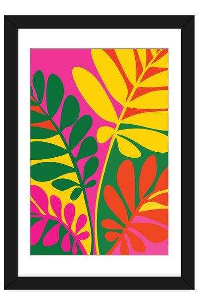 Bright Botanic Framed Art Print