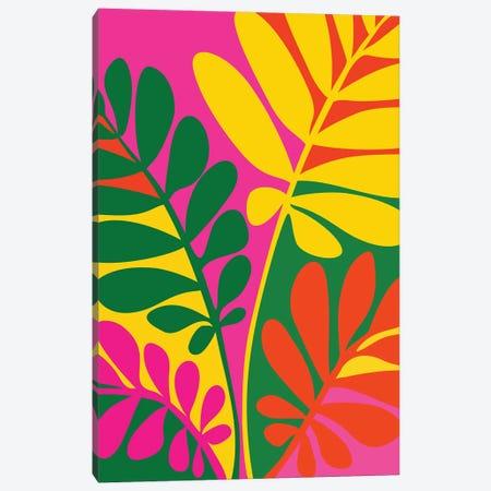 Bright Botanic Canvas Print #MTP211} by Modern Tropical Canvas Print