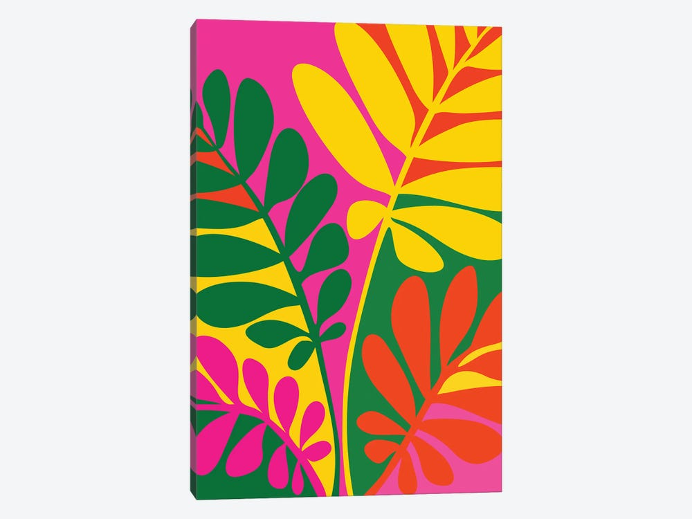 Bright Botanic by Modern Tropical 1-piece Art Print