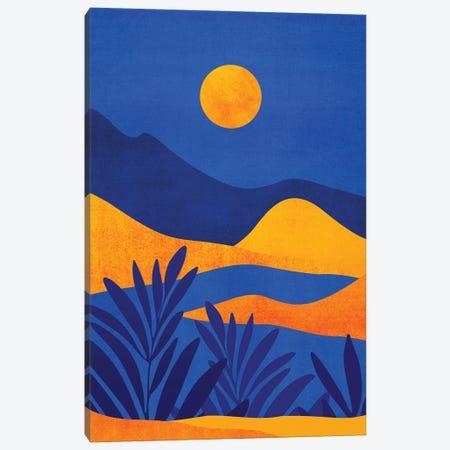Moonrise Mountains Canvas Print #MTP219} by Modern Tropical Canvas Print