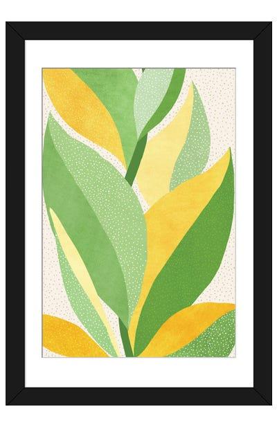 Sunny Contemporary Nature Framed Art Print