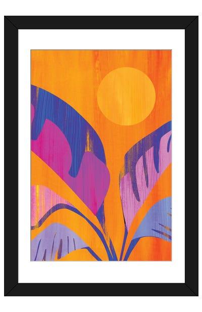 Mystic Tropics Framed Art Print