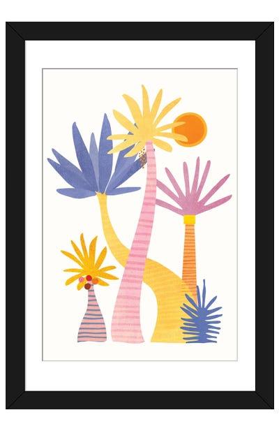 Whimsical Forest Framed Art Print