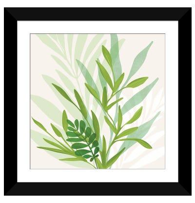 Wild Greenery Framed Art Print
