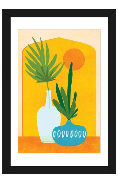 Eclectic Home Framed Art Print