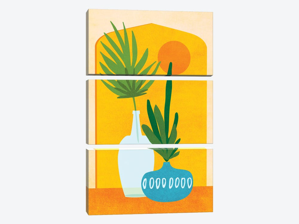 Eclectic Home by Modern Tropical 3-piece Canvas Artwork