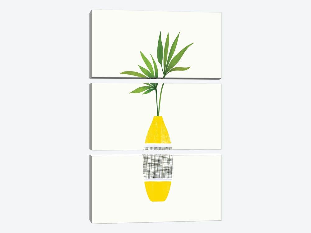 Tropical Still Life by Modern Tropical 3-piece Canvas Art Print