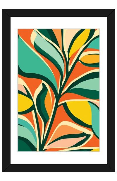 Garden Festival Framed Art Print