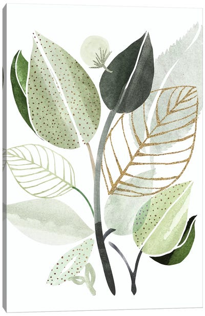Forest Bouquet Canvas Art Print