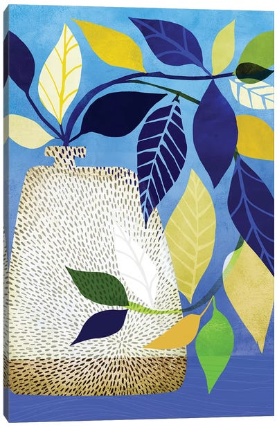 Ivy And Blue Sky I Canvas Art Print