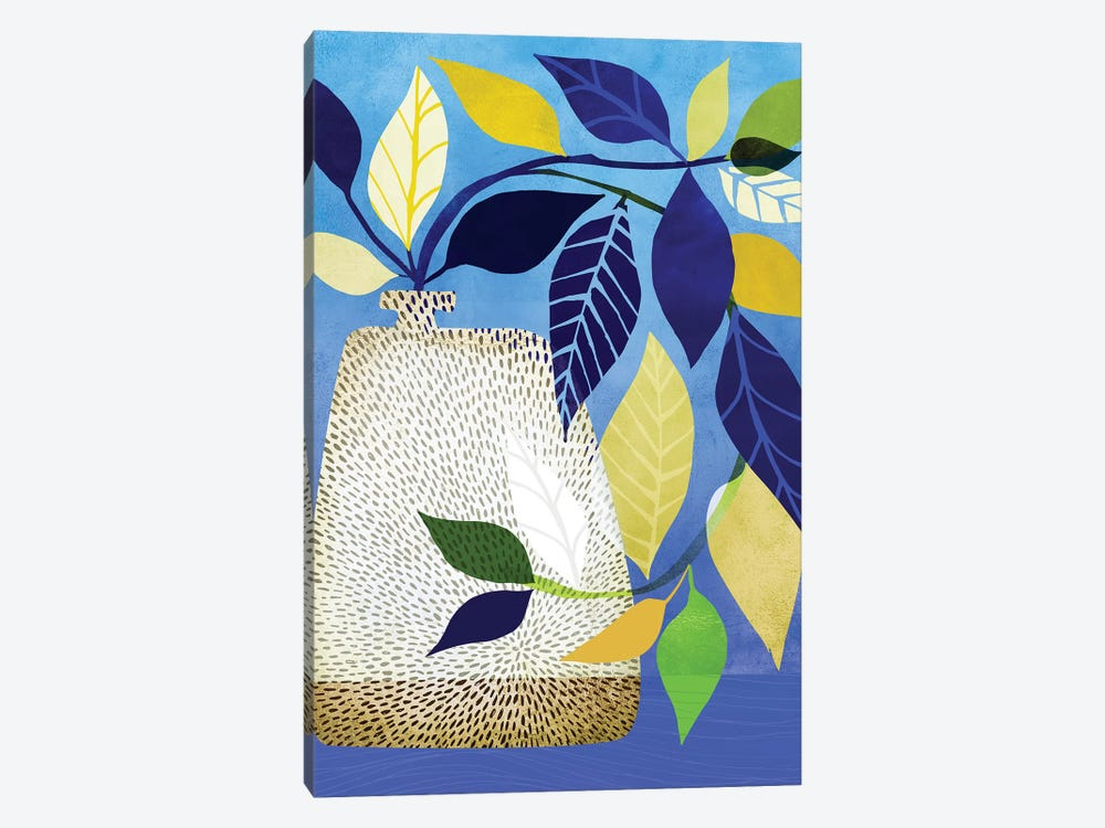 Ivy And Blue Sky I by Modern Tropical 1-piece Canvas Print