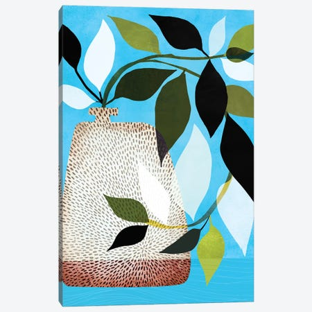 Ivy And Blue Sky II Canvas Print #MTP35} by Modern Tropical Canvas Artwork