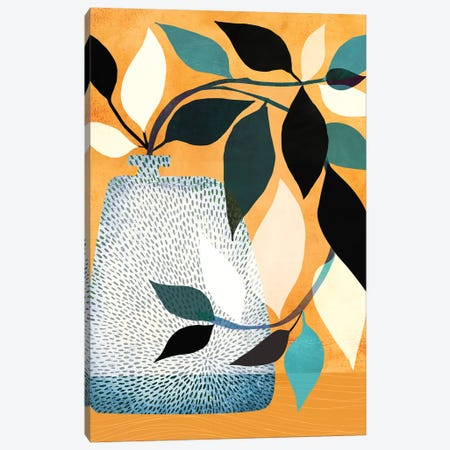 Ivy In The Courtyard Canvas Print #MTP36} by Modern Tropical Canvas Artwork