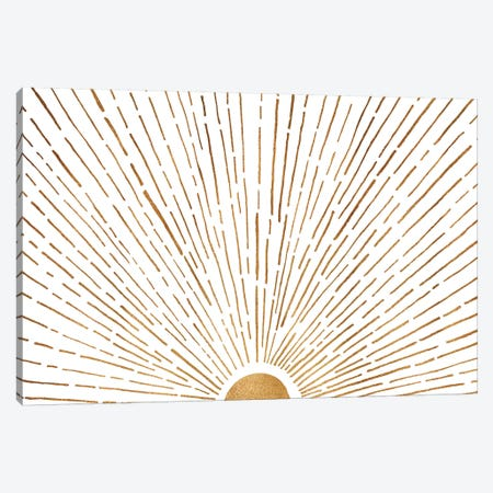 Let The Sunshine In Canvas Print #MTP39} by Modern Tropical Canvas Print