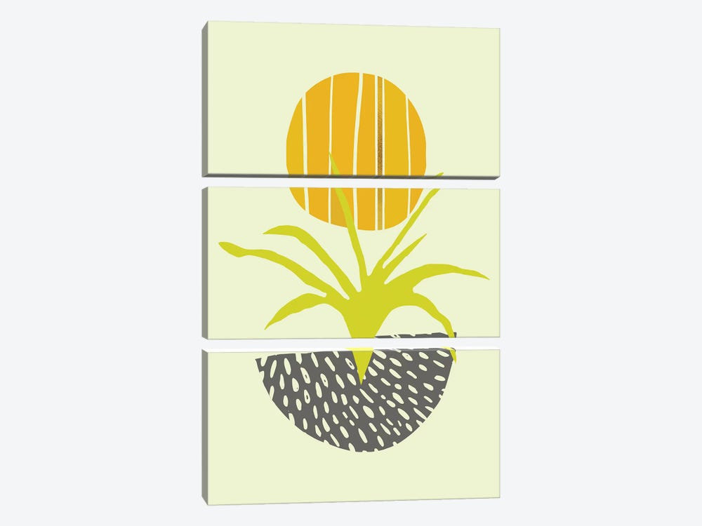Abstract Minimal Desert by Modern Tropical 3-piece Art Print