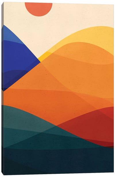 Meditative Mountains Canvas Art Print