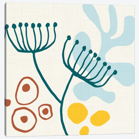Mid Century Minimal I Canvas Print #MTP42} by Modern Tropical Canvas Artwork