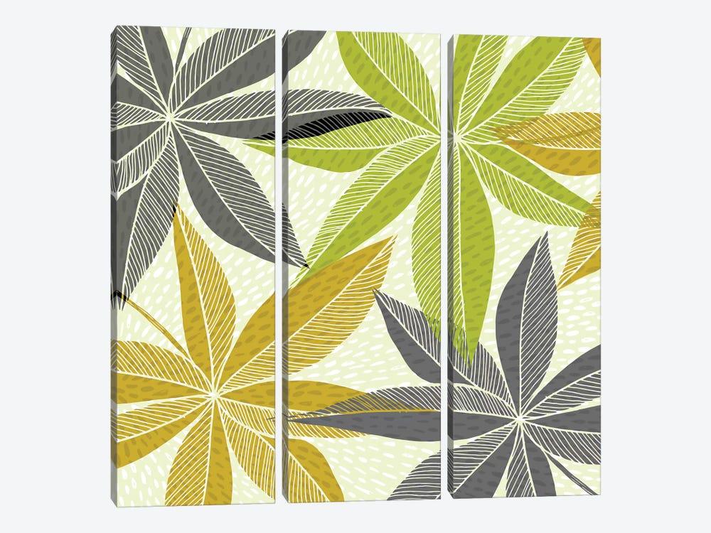 Modern Hawaiian Print by Modern Tropical 3-piece Canvas Art Print