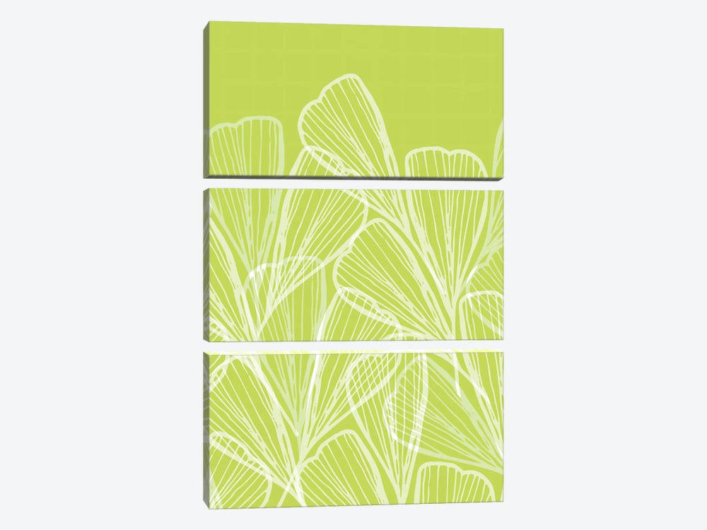 Modern Tropical Abstract by Modern Tropical 3-piece Canvas Artwork