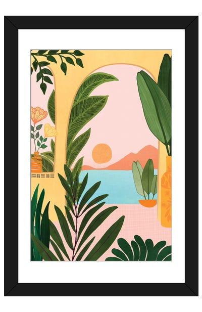Moroccan Coast Framed Art Print