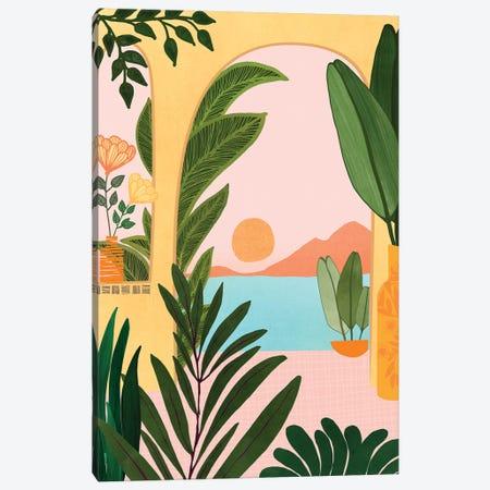 Moroccan Coast Canvas Print #MTP47} by Modern Tropical Canvas Print