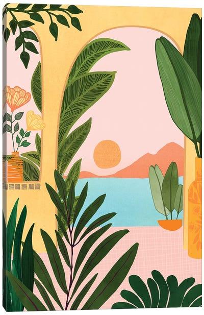 Moroccan Coast Canvas Art Print