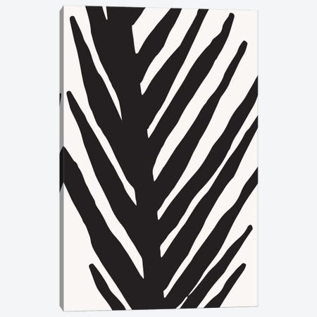 Abstract Minimal Palm Canvas Print #MTP4} by Modern Tropical Canvas Wall Art